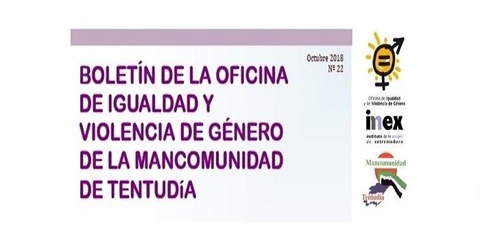 La Mancomunidad de Tentudía publica un nuevo Boletín de la Oficina de Igualdad y Violencia de Género