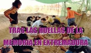 Presentación de la Exposición `Tras las Huellas de la Memoria en Extremadura´en Calera de León