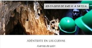 Otoño en Tentudía 2018: `Adéntrate en las Cuevas´ en Fuentes de León