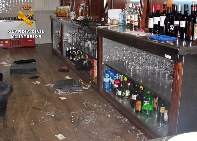 Detenido un vecino de Monesterio presunto autor de seis robos en bares y establecimientos de Zafra