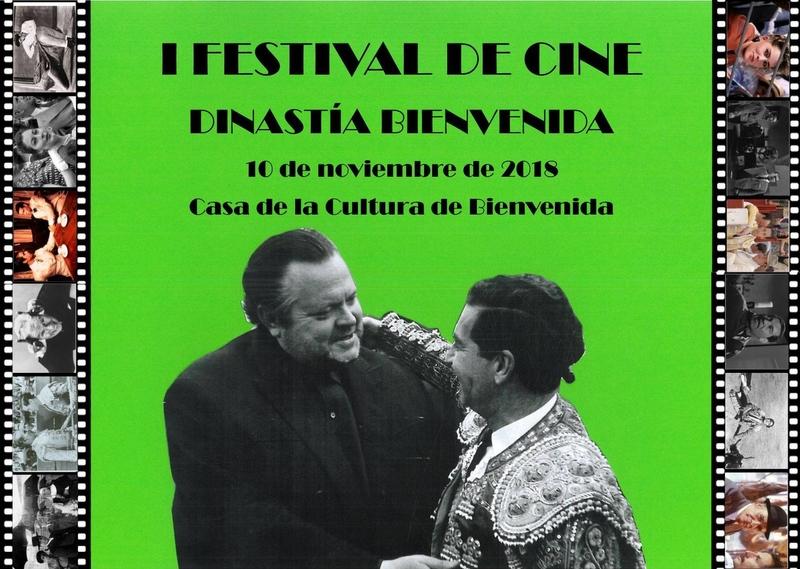 El I Festival de Cine DINASTÍA BIENVENIDA se celebrará el próximo 10 de noviembre