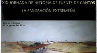 Conoce la Historia de `La Emigración Extremeña´ en las XIX Jornadas de Historia de Fuente de Cantos