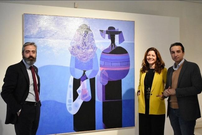 Inaugurada en la Sala Vaquero Poblador la exposición de la obra ganadora y las finalistas del XXXVI Premio de Pintura Eugenio Hermoso