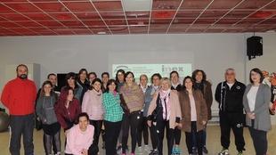 Una veintena de mujeres participan en el curso de Autoprotección y Seguridad Personal de Monesterio