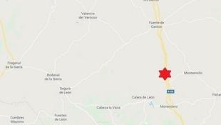 Nuevo terremoto en la Comarca de Tentudía