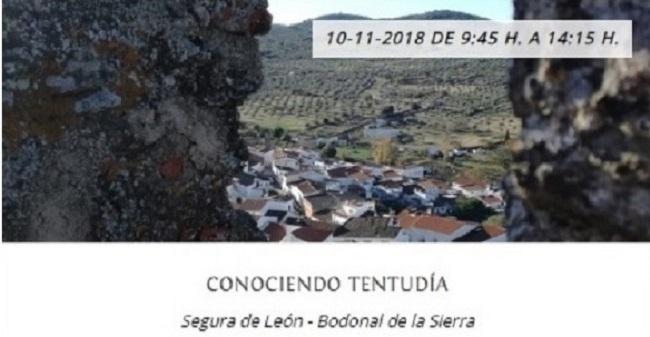 Otoño en Tentudía 2018: `Conociendo Tentudía´ en Segura de León y Bodonal de la Sierra