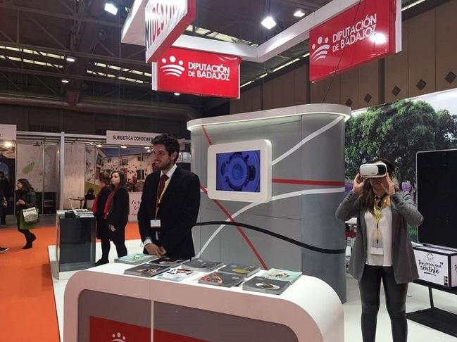 La Diputación de Badajoz cuenta con su propio Stand en INTUR para presentar los atractivos turísticos de la provincia