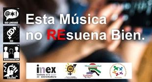 La Mancomunidad de Tentudía realiza una campaña para concienciar a la población sobre la música que escuchan nuestros menores