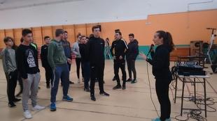 El alumnado del IES Alba Plata de Fuente de Cantos realiza actividades relacionadas con la salud