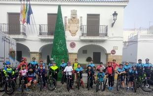 La Escuela Deportiva Comarcal de Ciclismo se cita en Segura de León