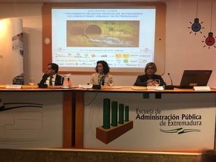 La depuradora de Segura de León puesta en relieve en la propuesta del Pacto por el Agua