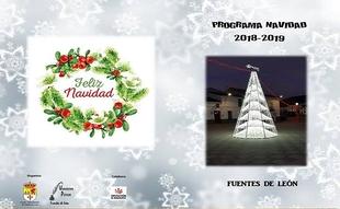 El Ayuntamiento de Fuentes de León ha presentado un amplio programa con numerosas actividades para estas Navidades