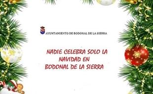 Bonita iniciativa del Ayuntamiento de Bodonal de la Sierra para estas navidades