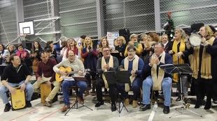 Cientos de personas celebran el inicio de la Navidad en Monesterio