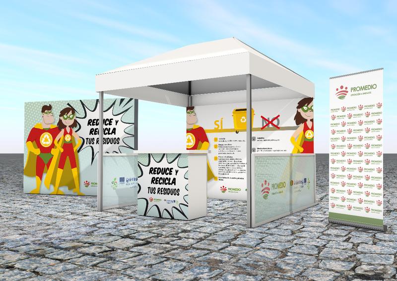 Promedio distribuirá bolsas reutilizables en Fregenal para promover el reciclaje y la reducción de residuos