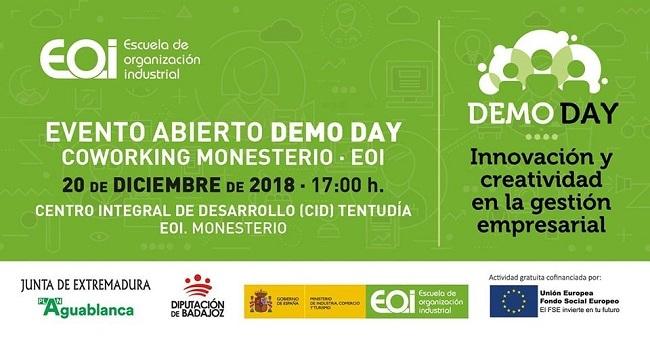 Coworking Monesterio realiza el jueves un Evento DemoDay