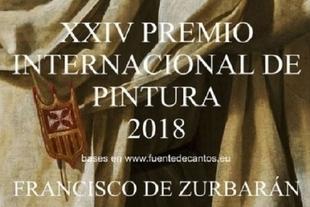 Conocidas las obras ganadoras del `XXIV Premios Internacional de Pintura Francisco Zurbarán´ de Fuente de Cantos