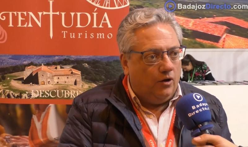Entrevista a Antonio Garrote, alcalde de Monesterio, en FITUR 2019