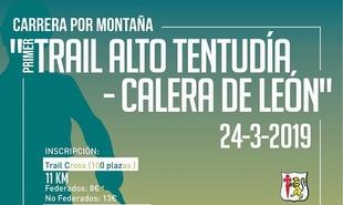 Calera de León espera con ganas la celebración del `I Trail Alto Tentudía - Calera de León´