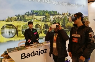 Gran acogida de las actividades de la provincia de Badajoz en FITUR