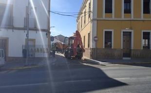 Monesterio invierte 300.000 euros en obras para la mejora de sus calles