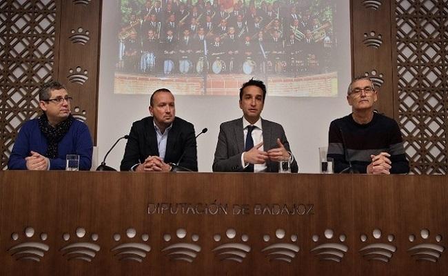 Fuente de Cantos acogerá uno de los cuatro `Encuentros de Bandas´ organizados por la Diputación y la Federación Extremeña de Bandas de Música