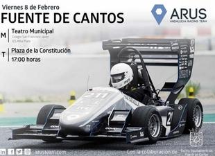 Jóvenes de Fuente de Cantos participan en el diseño del monoplaza eléctrico español que competirá en la Fórmula Student