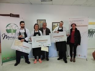 Rocío Maya, de Fuentes de León, ganadora en Monesterio del V Concurso Nacional de Cocina de la Dehesa