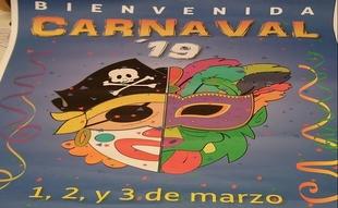 Bienvenida ya tiene el Cartel que anunciará el Carnaval 2019