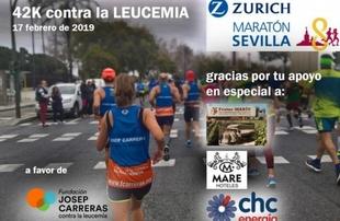 Un grupo de Monesterienses correrán en Sevilla por una buena causa