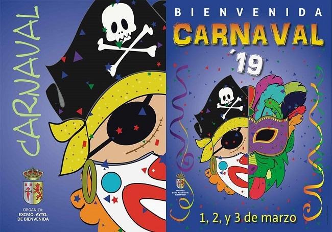 Bienvenida celebrará el Carnaval con numerosas actividades
