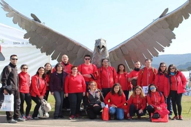 La Escuela Profesional `Tentudía Turística II´ visitó la Feria Internacional de Ornitología