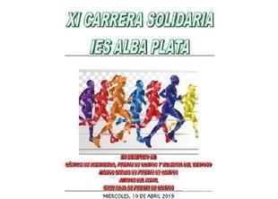 El I.E.S. `Alba Plata´ de Fuente de Cantos corre por una buena causa