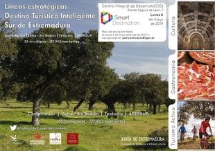 El modelo Destino Turístico Inteligente SUR de Extremadura se presenta en Monesterio el próximo lunes