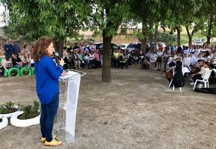 Rosa Balas defendió en Bienvenida los valores que definen la Unión Europea