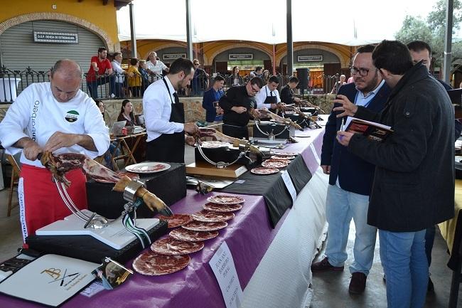 Gran XXX Salón del Jamón Ibérico celebrado en Jerez de los Caballeros