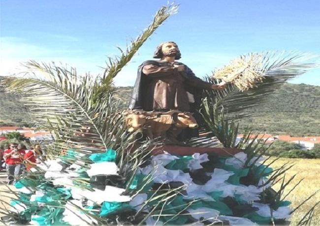 Romería de San Isidro en Santa María de Navas
