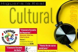 Programación Cultural de junio en Higuera la Real