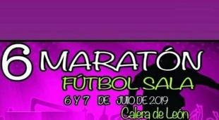La maratón de Fútbol Sala de Calera de León ya tiene fecha