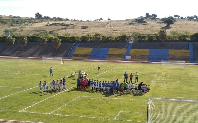 Campus de Fútbol en Monesterio organizado por la Escuela `Edu Moya´ y la AFE