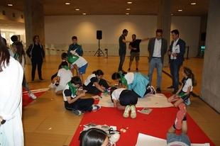 Alumnos del I.E.S. de Fregenal de la Sierra han presentado su proyecto en `Expertemprende´