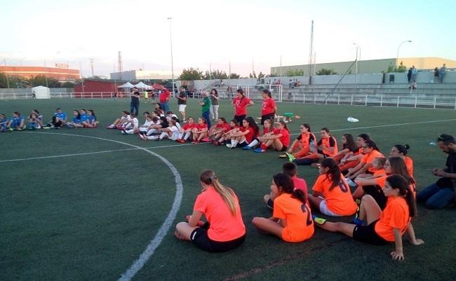 Los equipos femeninos de Bodonal y Segura han participado en el torneo `Primavera Ciudad de Zafra´