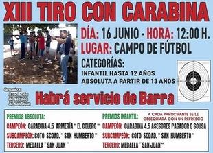 El XIII Tiro con Carabina abre este domingo los actos por San Juan en Fuente de Cantos
