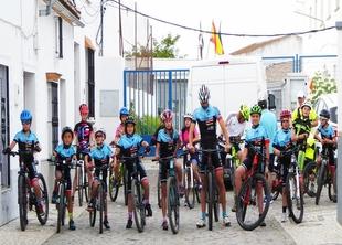 La Escuela Ciclista Comarcal Puerto Lobo Sierra de Tentudía clausuró su temporada en Bodonal