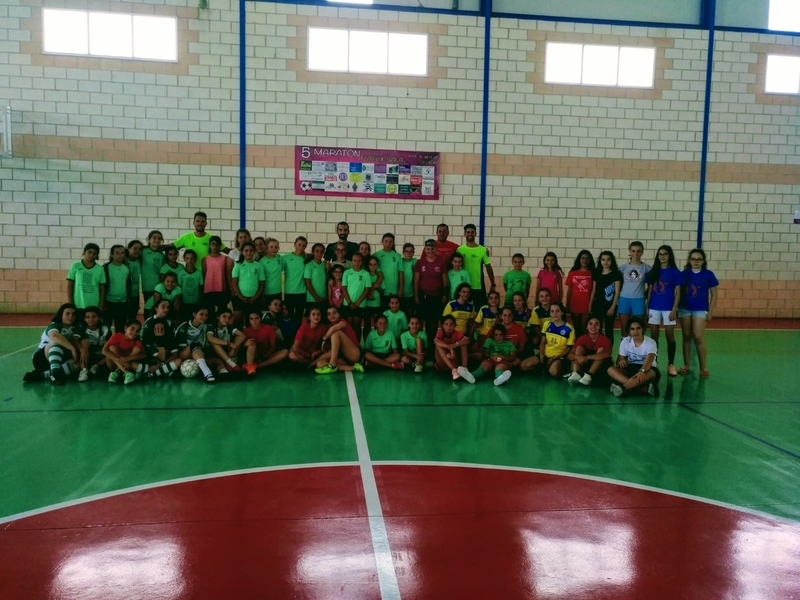 La Liga Comarcal femenina ponía su broche final a la temporada en Calera de León