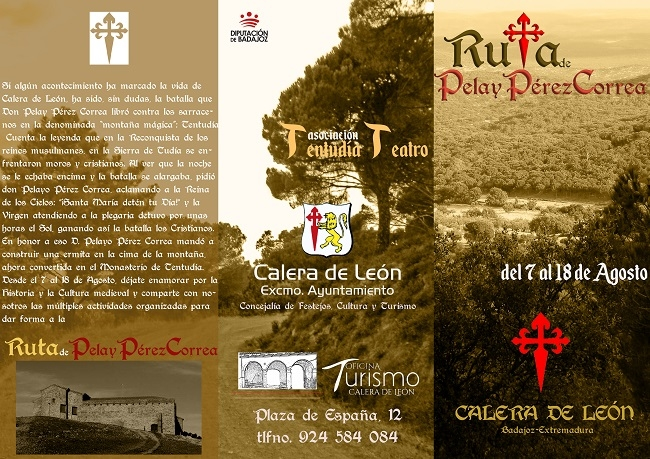 Pelay Pérez Correa da nombre a la programación medieval de Calera de León