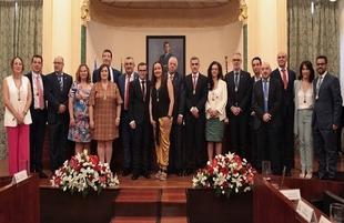 Lorenzo Molina, alcalde de Segura de León, presentado como Diputado Delegado de Desarrollo Rural y Sostenibilidad