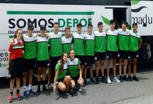 La Selección Extremeña Escolar, de la que forma parte el bonalejo Rodrigo Cid, satisfecha en Cheste
