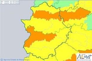 El 112 activa hoy la Alerta Amarilla por altas temperaturas en el sur de Badajoz