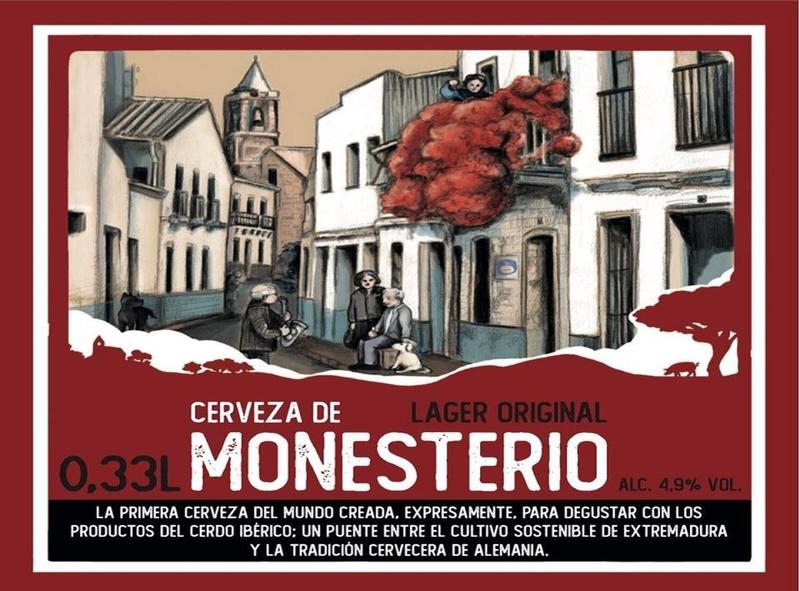 Cerveza de Monesterio: la primera cerveza del mundo creada para degustar con productos del cerdo ibérico